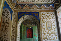 Beautiful detail of Golestan Palace,Tehran, Iran. Stock Photography