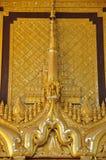 Beautiful detail of Kambawzathardi Golden Palace,Bago, myanmar. Royalty Free Stock Photography
