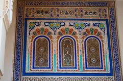Beautiful detail of Moulay Ismail Mausoleum Royalty Free Stock Image