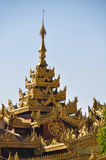 Beautiful detail of Shwe Maw Daw Pagoda,Yangon,Myanmar Stock Photography