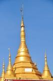 Beautiful detail of Shwe Maw Daw Pagoda, Yangon,Myanmar Stock Photos