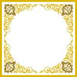 Beautiful detailed empty frame Royalty Free Stock Photo