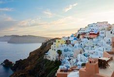 Beautiful details of Santorini island, Greece royalty free stock photo