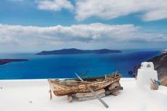 Beautiful details of Santorini island, Greece Royalty Free Stock Image