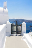Beautiful details of Santorini island, Greece Stock Photography