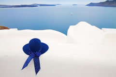 Beautiful details of Santorini island, Greece Royalty Free Stock Image