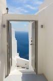 Beautiful details of Santorini island, Greece Royalty Free Stock Images