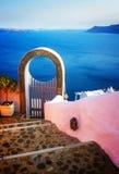 Beautiful details of Santorini island, Greece Stock Image