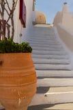 Beautiful details of Santorini island, Greece Stock Photos