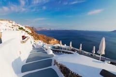 Beautiful details of Santorini island, Greece Royalty Free Stock Photos