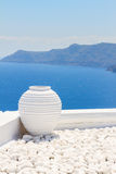 Beautiful details of Santorini island, Greece Royalty Free Stock Photos