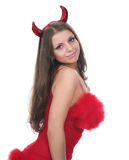 Beautiful devil Royalty Free Stock Photo