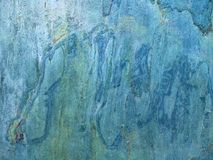Beautiful diagonal structure of blue stone Stock Photo