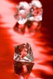 Beautiful diamond crystal Stock Photos