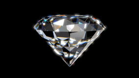 Beautiful Diamond stock video footage