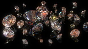 Beautiful diamonds Stock Images