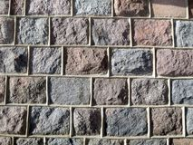 Natural stones wall surface texture royalty free stock photography
