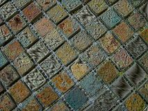 Colorful painted wall surface texture royalty free stock photos