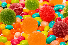 Beautiful different sweets Royalty Free Stock Photo