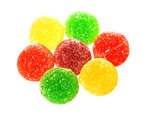 Beautiful different sweets Stock Image