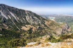 Dikti mountains in Crete, Greece Stock Images