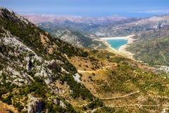 Dikti mountains in Crete, Greece Royalty Free Stock Photos