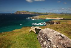 Beautiful Dingle Peninsula in summer Ireland, co. Kerry. Dingle Peninsula, west coast of Ireland, co. Kerry Stock Photos