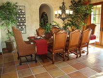 Beautiful Dining Room Stock Photo