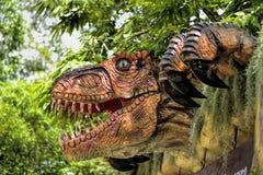 Beautiful Dinosaur sculpture Stock Photo