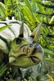 Beautiful Dinosaur sculpture Stock Image