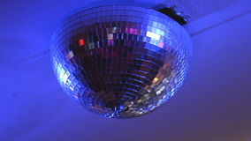 Beautiful Disco Ball Spinning stock footage