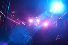 Beautiful disco lights Royalty Free Stock Photos