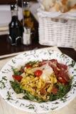Beautiful dish of fresh taliagtelle Stock Photography