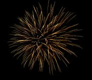 Fireworksfireworks in the dark sky background, New Year celebration fireworks. royalty free stock images