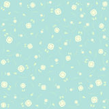 Beautiful ditsy floral background. In blue tones Royalty Free Stock Photography