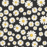 Beautiful ditsy floral seamless background. vector illustration