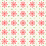 Beautiful ditsy floral seamless background Royalty Free Stock Images