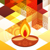 Beautiful diwali background vector illustration