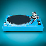 Beautiful DJ player Stock Photos