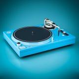 Beautiful DJ player Stock Photo