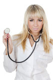 The beautiful doctor Royalty Free Stock Photo