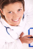 Beautiful doctor Royalty Free Stock Photos