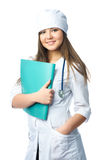 Beautiful doctor Stock Images