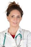 Beautiful doctor woman Stock Photos