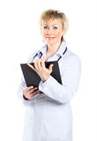 Beautiful doctor woman Stock Photo