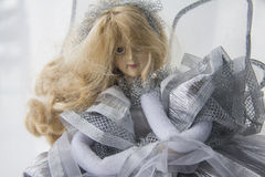 Beautiful doll Stock Images