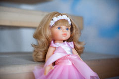 The beautiful doll Royalty Free Stock Photos