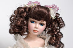 Beautiful dolls portrait Stock Photos