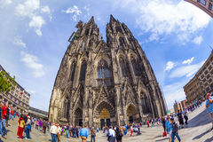 Beautiful dome in cologne Royalty Free Stock Images