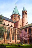 Beautiful dome in Mainz Stock Image
